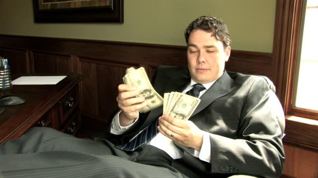 Rich Guy Counts Money 1 video