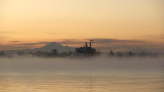 Video Richmond, British Columbia, Canada – February 2, 2017. C0003 Seaspan Swift Cargo Ship 4K UHD