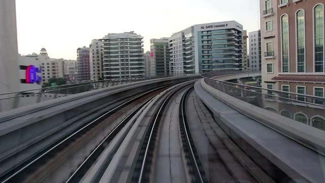 Ride on Dubai Metro