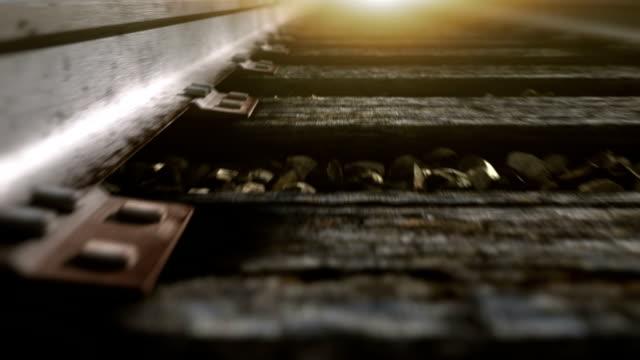 Ride over railroad track.