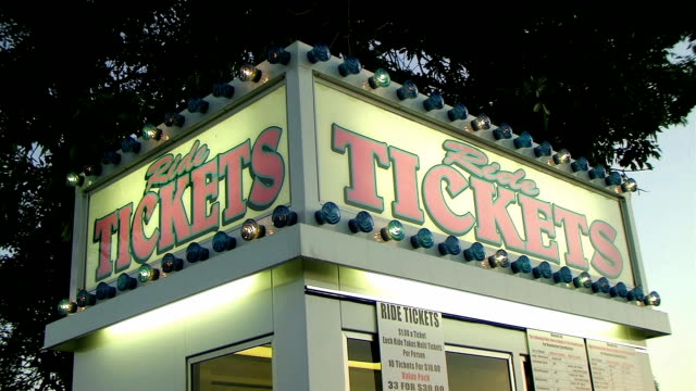 Ride Tickets Sign with Lights (NTSC_link_below) video