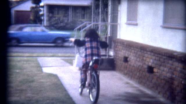 Riding Bike 1960's