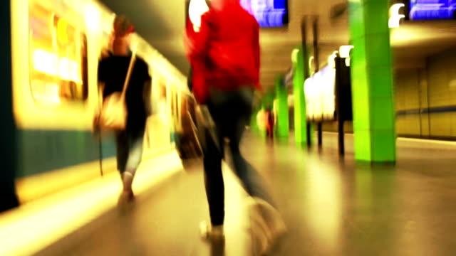 TL POV Riding The Subway video