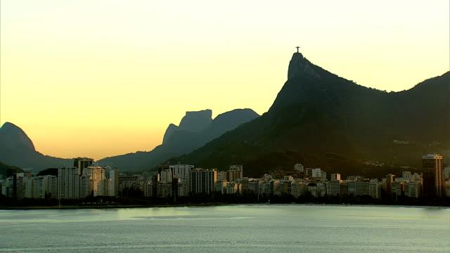 Rio de Janeiro, Brazil at sunset video