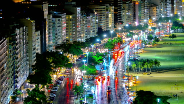 Rio De Janeiro, Brazil in a thunderstorm Brazil 4K footage series cristo redentor stock videos & royalty-free footage