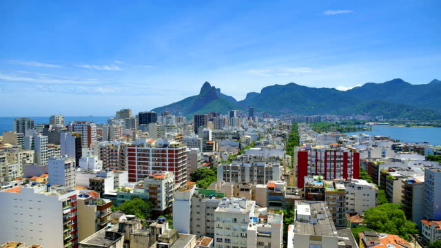 Rio De Janeiro, Brazil: Ipanema Rio De Janeiro, Brazil and Sao Paulo, Brazil sunrise, sunset, day/night time lapses and real-time footage series. cristo redentor stock videos & royalty-free footage