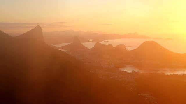 Rio de Janeiro sunrise video
