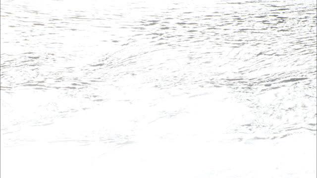 vídeos y material grabado en eventos de stock de dep marea de sonido de sleat-vista aérea de escocia, tierras altas, reino unido - marea