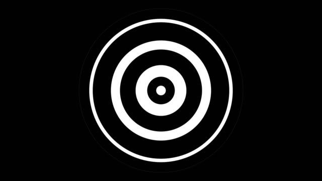 vídeos de stock, filmes e b-roll de círculos ondulados. - ondulado