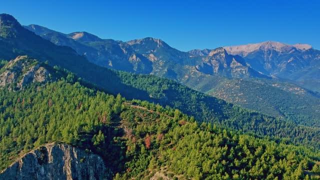 Rising High Mountains