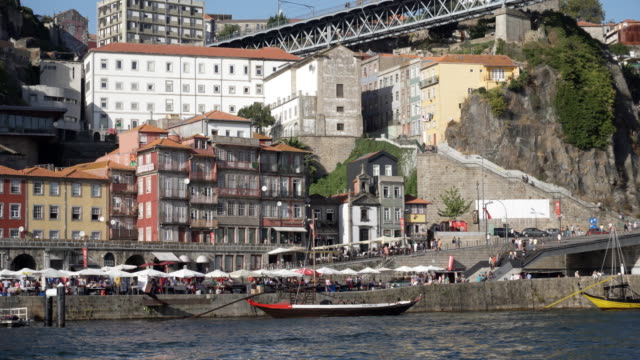 River Douro Cruise. Video 4K hand held shooting