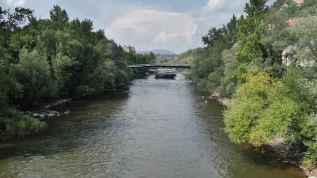 floden mur i graz - steiermark bildbanksvideor och videomaterial från bakom kulisserna