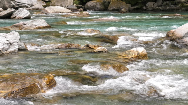 River, Stream-Flowing Water video