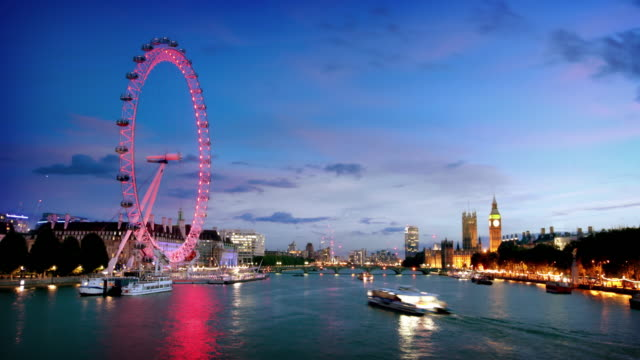 river thames london - london architecture stock videos & royalty-free footage