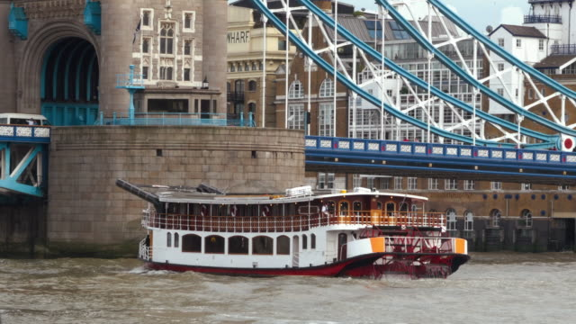 A riverboat at River Thames, London