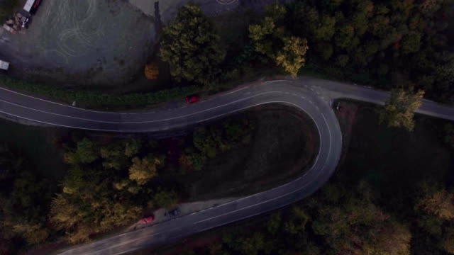 Road Aerial View video