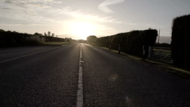 Road At Sunset video