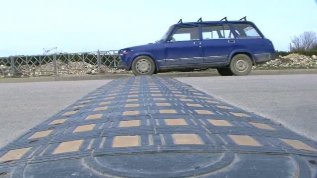 Road bumps video