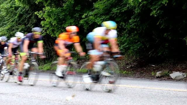 road 自転車レース - サイクリング点の映像素材/bロール