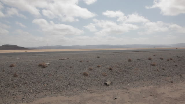 Road in the Djibouti Desert