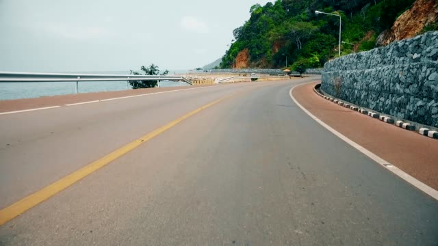 road near beach - cliffs stock videos & royalty-free footage