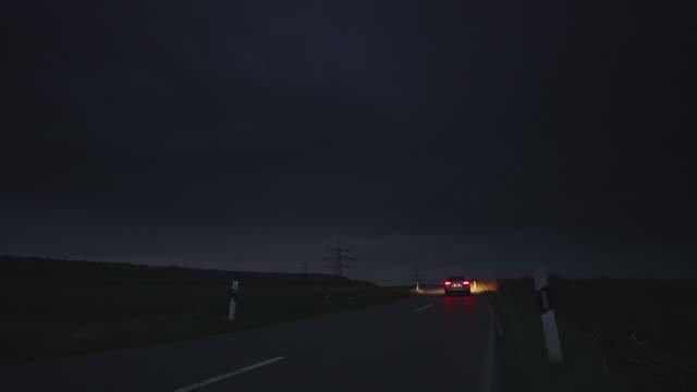 CRANE UP: Road Night video