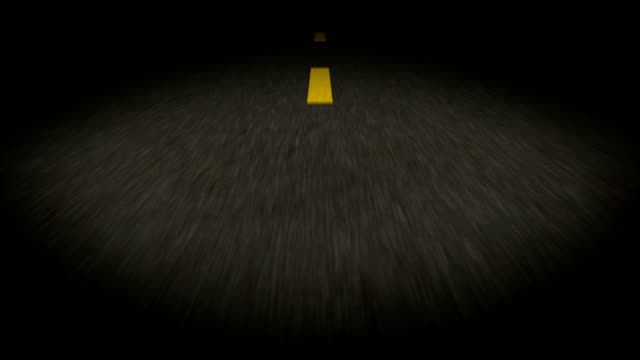 Road night video