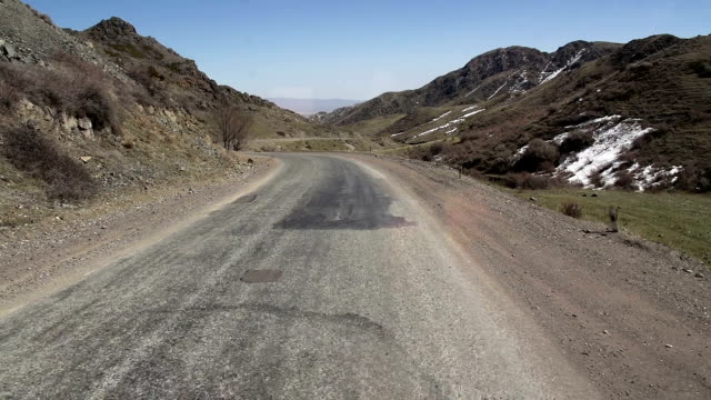 Road Through the Mountain Pass video