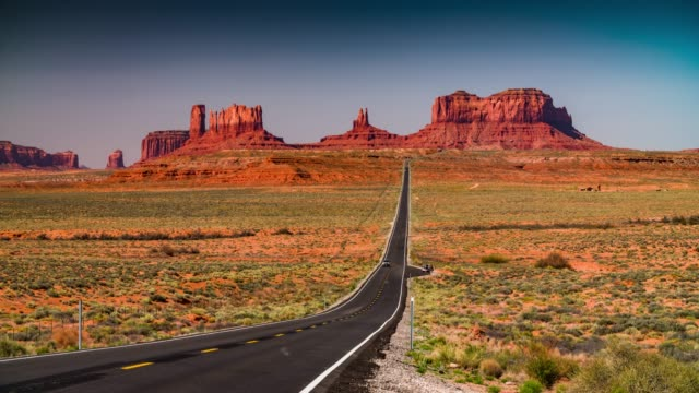 Road to Monument Valley Tribal Park video