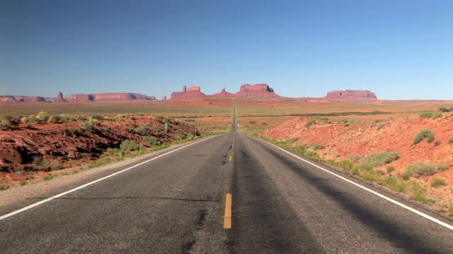 Road to Monument Valley video