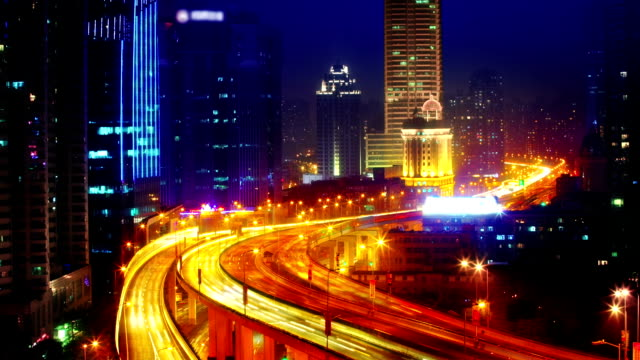 Road to night city. video