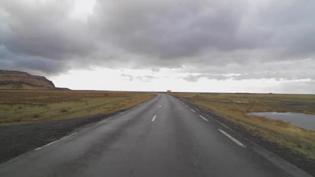 road traffic in iceland - państwo lokalizacja geograficzna filmów i materiałów b-roll
