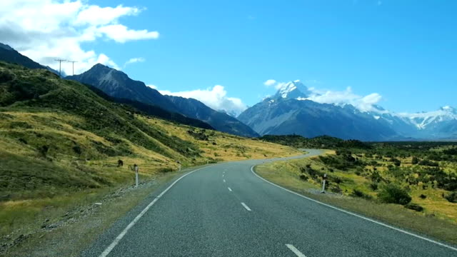 Road trip in South island New Zealand video