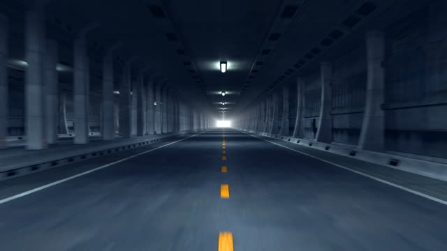 Road tunnel (HD1080) video
