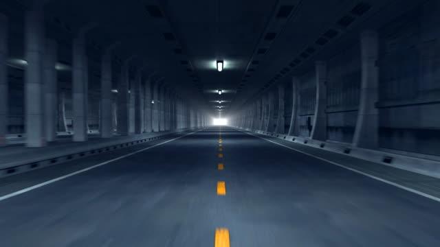 vídeos de stock, filmes e b-roll de túnel (hd1080 - distante