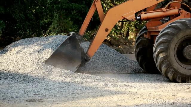 Road Workers Repair Work video