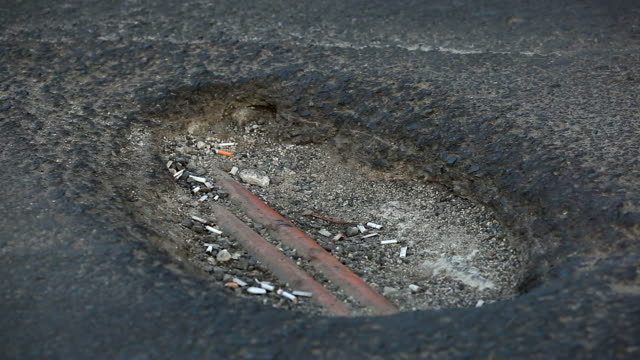 Roads With Potholes video