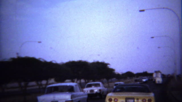 1974: Roadside new construction wealthy mansion houses.