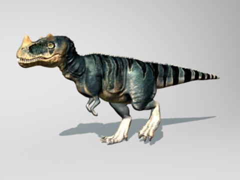 Roaring dinossauro - vídeo