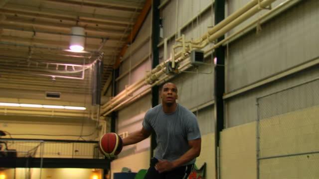 Robert's Basketball Jump Shot 3 LA video