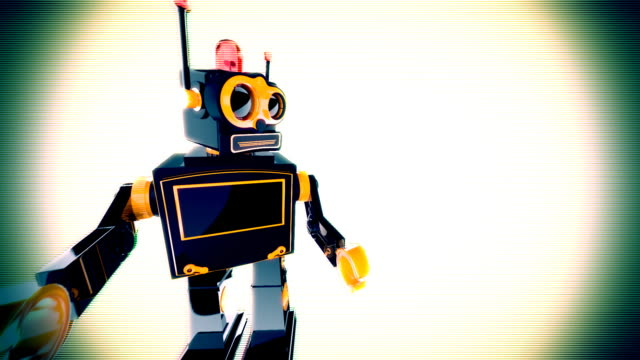robot animation video