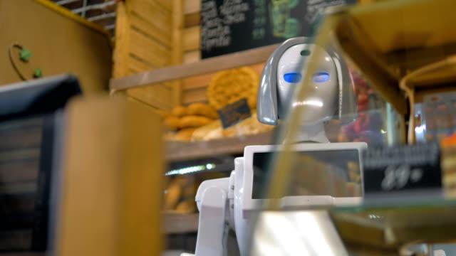 パンの買物をするロボットを実現します。 - パン屋点の映像素材/bロール