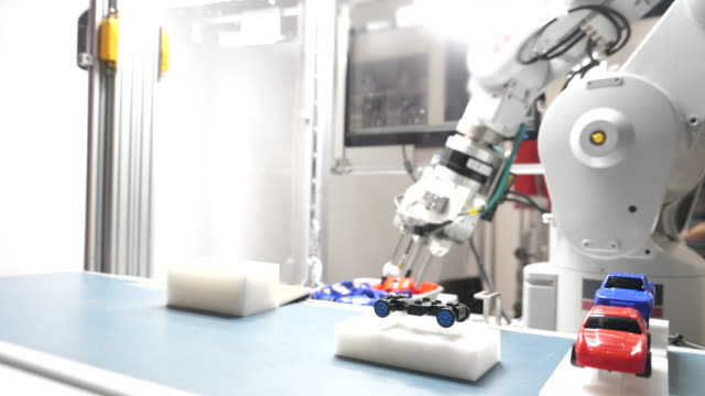 Robotic arm Catch the work video