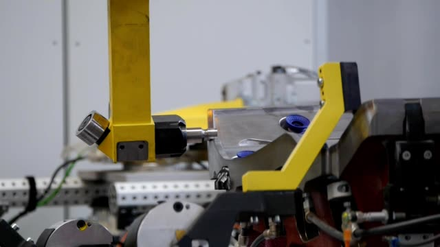 robotic arm - industrial production video