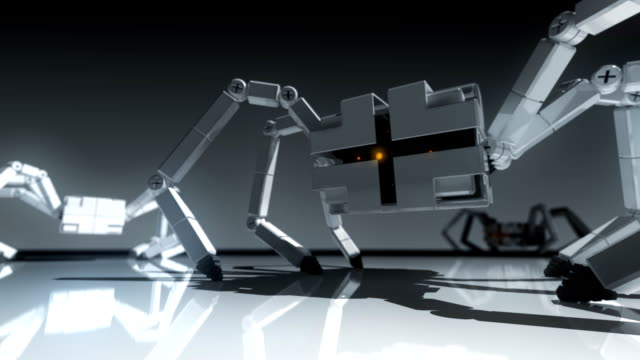 Robotic Spiders video
