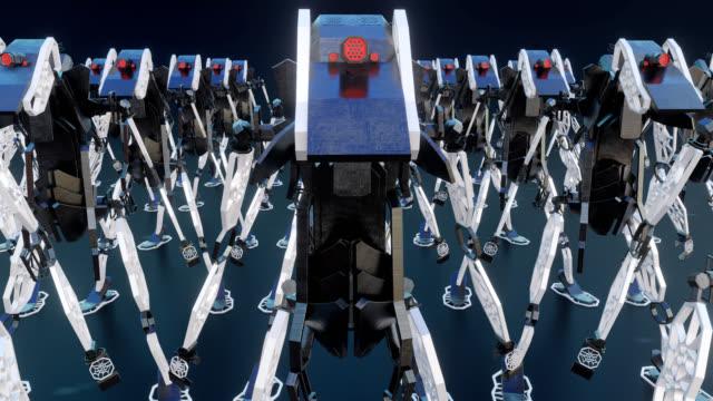 4K Robots - 3D generative design video