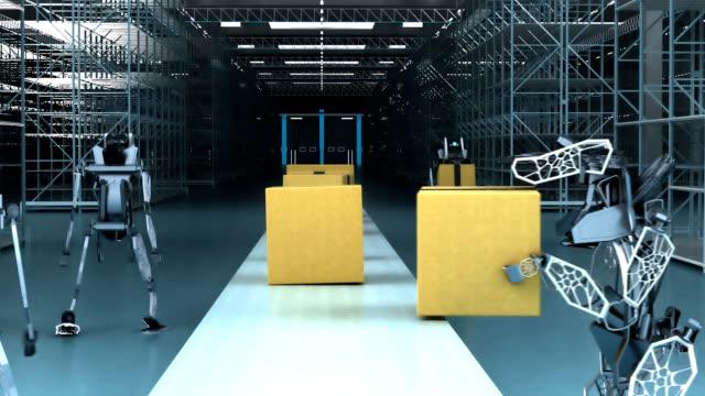 Robots stealing work - 3D Animation video