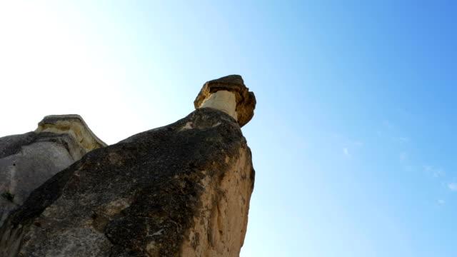 rock hoodoos i zelve nationalpark i kappadokien - anatolien bildbanksvideor och videomaterial från bakom kulisserna