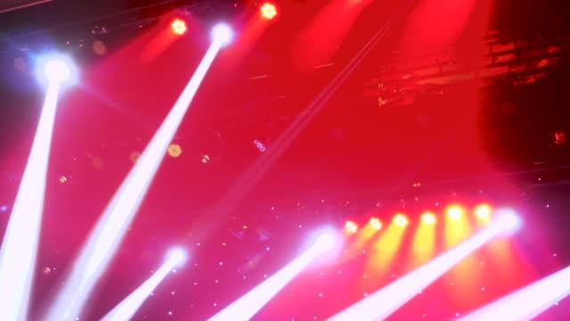 Rock Music Concert lights video