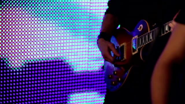 Rock musicians video